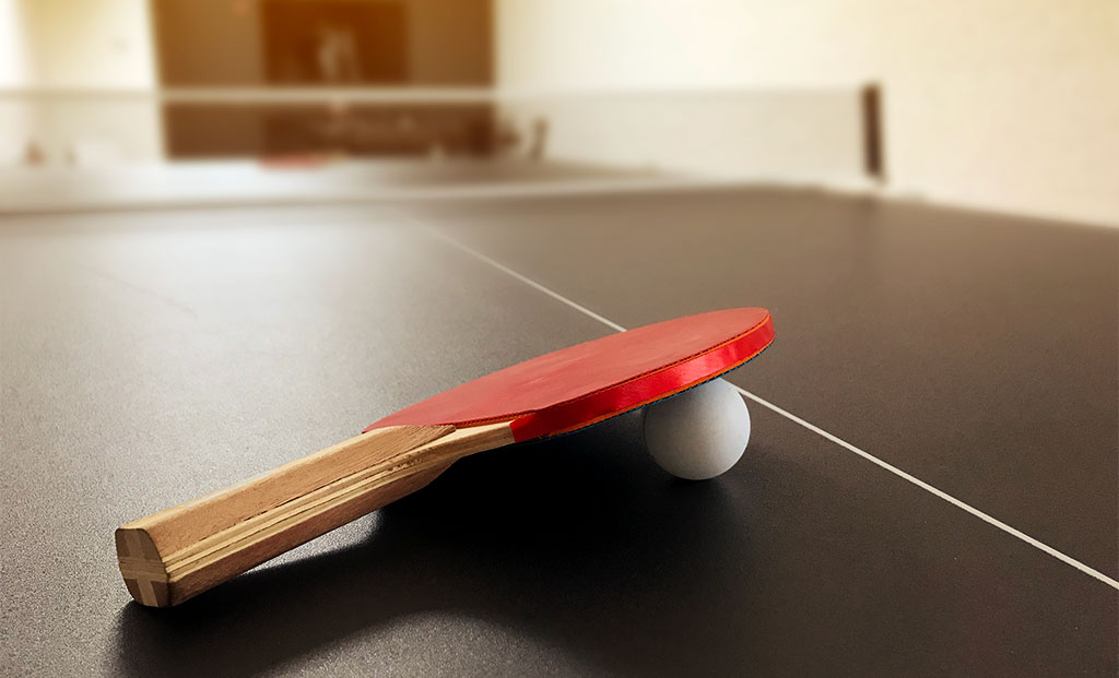 Push10 branding agency ping pong table