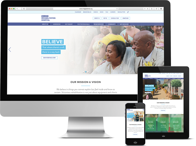 Responsive Web Design Devices Magee Hospital