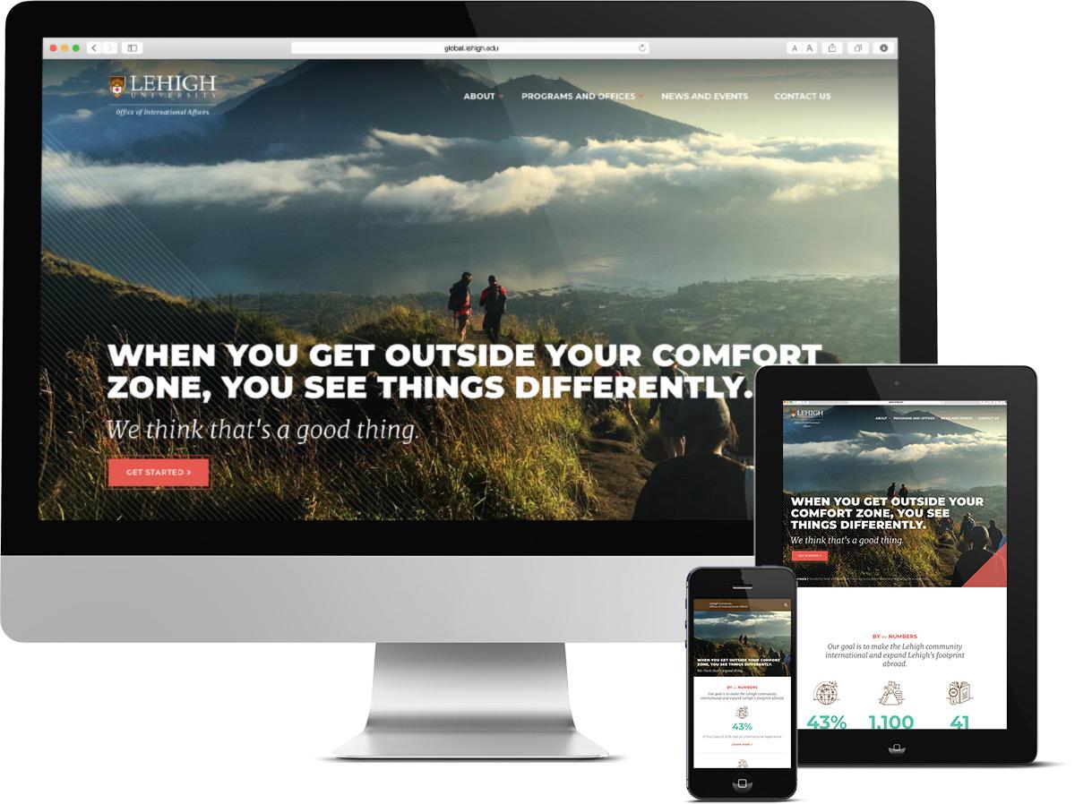 Responsive web design for educatoin