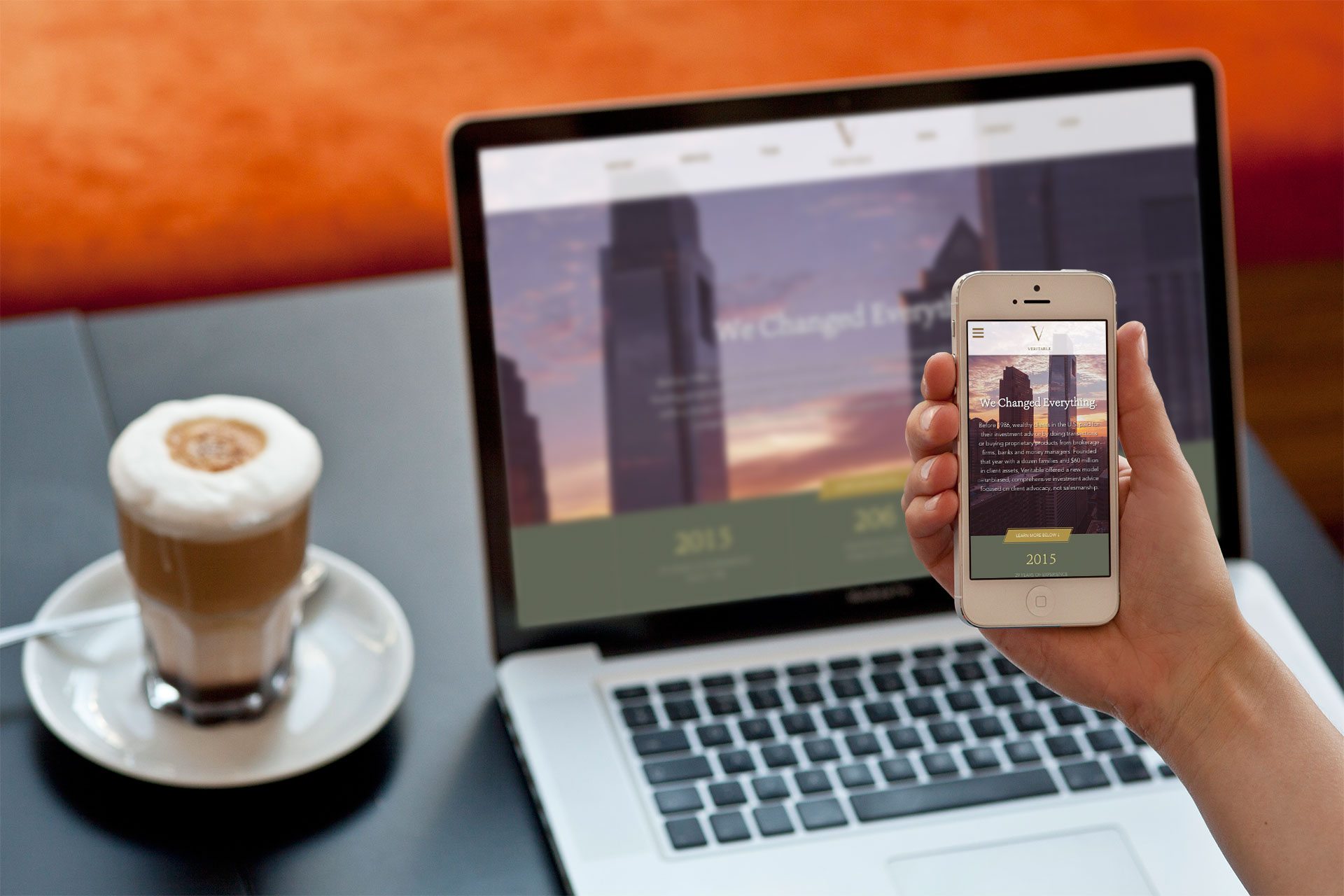 Mobile-Friendly Web Design for Investment Firm