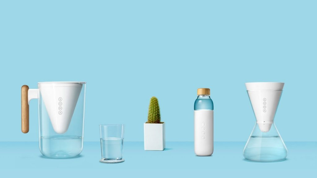 eco-friendly brands conserving water Soma water ad