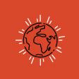 graphic design of earth
