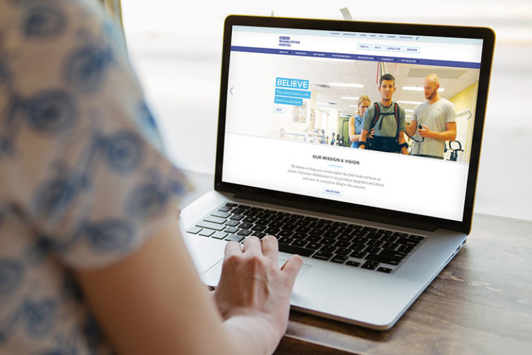 Website Design for Philadelphia Hospital