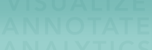 Custom teal text Graphic Background Pattern by Push10