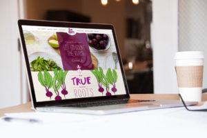 Website Design for Philadelphia Juice and Organic Foods brand