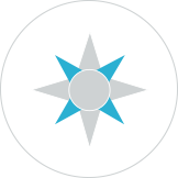 Custom Illustration for Philadelphia Non-Profit Website by Push10, push10 website design, push10 branding, push10 web design, philadelphia web design, iconography, custom illustration, graphic design, custom icons, compass icon