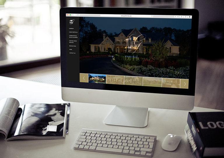Responsive Web Design for Philadelphia Construction Company, guidi homes, guidi, guidi website, push10, push10 web development, responsive web design