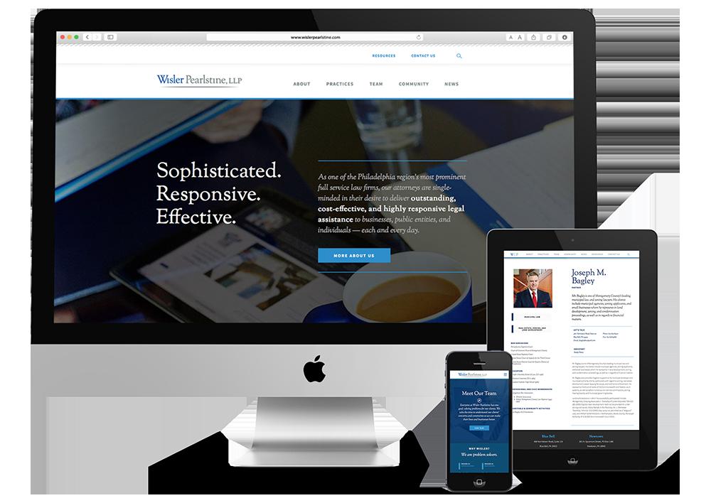 wisler pearlstine, wisler pearlstine website, philadelphia web design, philadelphia branding, push10, responsive web design, legal web design, legal marketing, website for law firm