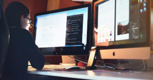 Wordpress web developer working at Push10 in Philadelphia